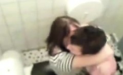 18 year old dollar caught fucking in bathroom