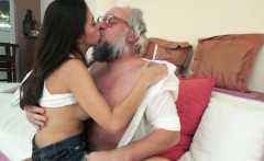 Teen fucked by geriatrics cock from behind