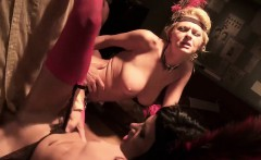Lustful stunners get nailed in an orgy