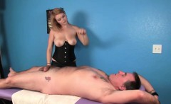 femdom masseuses jilling off with cbt