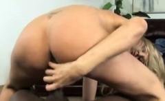 Julia Ann Gives Head and Strokes Big Black Cock