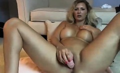 Big Titty Milf Sucking Cock On Webcam