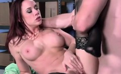 Curvy Secretary Chanel Preston Gets Impaled By Boss