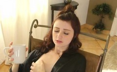 lascivious cougar licks pussy of stepdaughter
