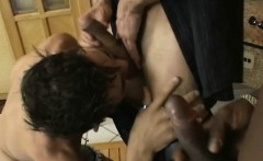 Hardcore Threesome Of Latinos And Black