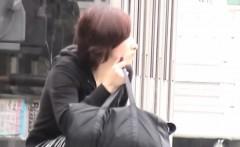 asian slut filmed upskirt