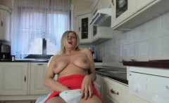 Luxury Blonde Whore Amazing Cam Show!