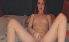 Sexy Blonde Babe Finger Fuck Her Pussy