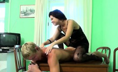 Homemade massage on the table