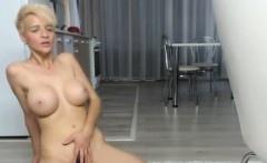 amazing big tits camgirl shows off her tight body