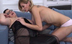 Curvy BBW has sex with a hot young babe