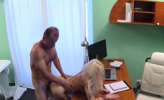 Slutty blonde banged in hospital