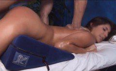gal bounds on penis feeling it deep inside of her a hole