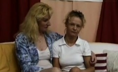 Amateur MILF blonde public toilet sex
