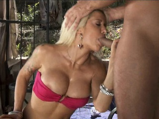 Athletic Blonde Wife loves dick