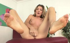 Girls masturbating with dildos featuring Alyssa Reece