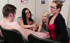 Cfnm Milf Teachers Tugging Cock Together