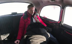 Female Fake Taxi Sexy driver sucks and fucks fare