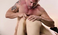 Lovely Tgirl Stefani in make up anal sex