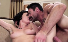 curvy babe olive glass gets impaled by messenger