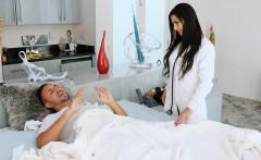 first boy girl scene of hot milf nurse melissa lynn