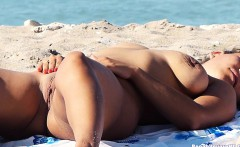 Horny Nudist Beach Couples Hidden Cam