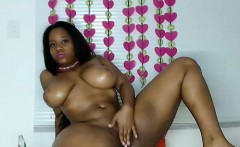 Hot Black Maid Does Some Webcam Black and Ebony