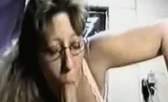 real amateur blonde gives a hot pov blowjob on the train