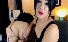Two Naughty Shemale Babe Cam Show