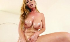 Dicksucking MILF fucked in gaping pussy POV