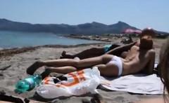 Nude Beach Public Blowjob