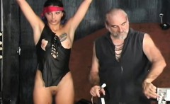 Naughty Video With Beauty Enduring Pussy Stimulation