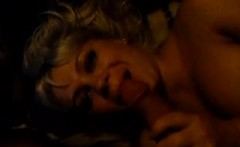MILF Blonde fucked by Big Cock on her Big Tit