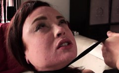 Facefucked uk whore choked into submission