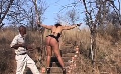 african slaved tortured outdoors