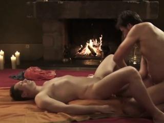 He is happy massaging his anus