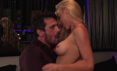 Kayden Kross Fucking a client in the strip cl