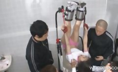 Asian sexual torture with teen slave