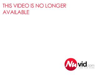 Ebony femboy jerking off and gaping outdoors
