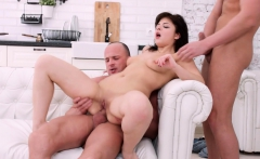 rebecca rainbow never tried double penetrations before.