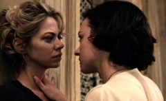 Analeigh Tipton and Marta Gastini in lesbian sex scenes