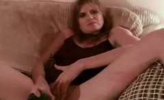 Skinny Milf Masturbates Then Fucks In Homemade Video