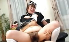 The bizarre maid banging party continue for these sluts