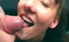 Dirty bigtit MILF whore gets jizzed