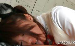 Asian schoolgirl pussy fucked by horny teacher