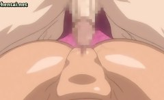 Sexy anime babes getting a cock
