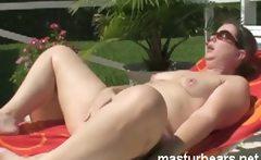 Private Garden Masturbation Milf Sophia