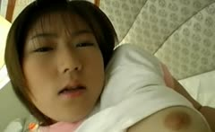 Innocent 18 years old japanese teen