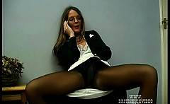 Sexy Pantyhose And Fetish Sex For Kinky Bitch