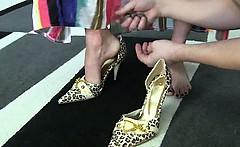 Foot fetish BDSM